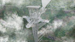 Toàn Cảnh Khu Du Lịch Cầu Kính Rồng Mây Sapa Lai Châu | Sapa Tv