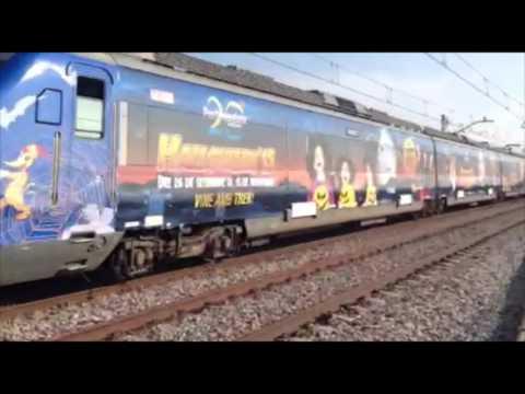 Tren Halloween PortAventura 2015