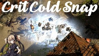 Path of Exile [2.4] Crit Cold Snap Inquisitor [SC/HC Viable] [Budget Friendly]