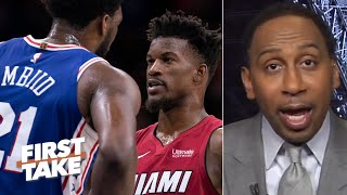 The 76ers had no answer for the Heat's 2-3 zone defense – Stephen A. | First Take