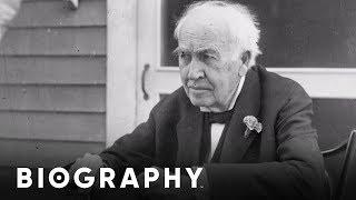 Thomas Edison - Inventor   Mini Bio   BIO