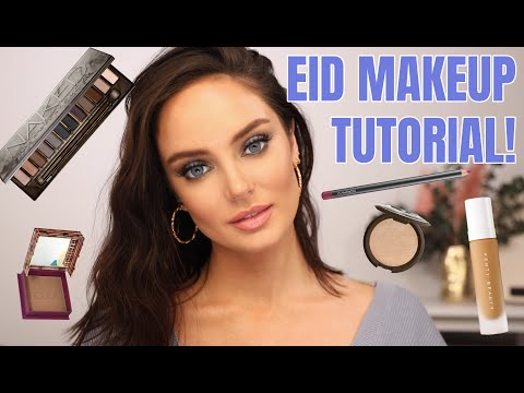 Eid 2020 Makeup Look using Favourite Products  \ Chloe Morello