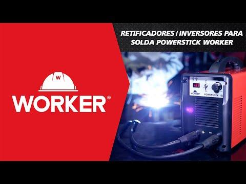 Inversor para Solda Powerstick 200 Bivolt Worker - Vídeo explicativo