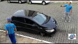 Motorista bate em veículos, tenta fugir e é detida em Bento Gonçalves