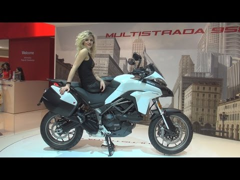 @DucatiMotor #Multistrada 950 (2017) Exterior and Interior in 3D