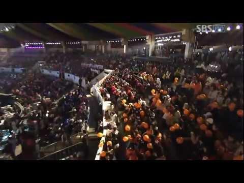SNSD & Wonder Girls - Special Stage - Gayo Festival (29-Dec-2007)