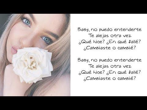 Changes (Spanish Version) - Karen Méndez (LETRA)