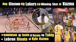 Ganito ang GINAWA ng Lakers sa Game Winning Shot ni Kyle Kuzma! Lakers Big 3 UMISCORE ng 81 pts!