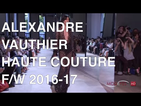 ALEXANDRE VAUTHIER | FALL WINTER 2016 | FULL FASHION SHOW