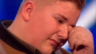 This Boy CAME BACK To Prove David WRONG! GOLDEN BUZZER Moment!