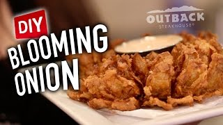 DIY Blooming Onion - Feat. Mr. Pig