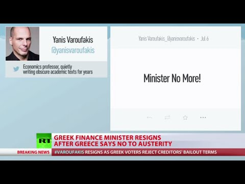 Varoufakis resigns as Greek finance minister