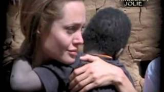 Angelina Jolie on Darfur refugee crisis