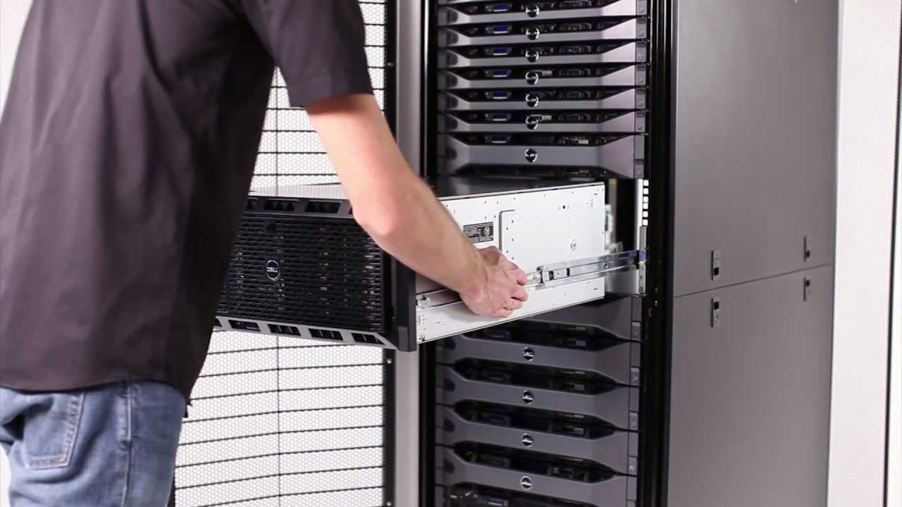 Poweredge T620 Installation In Rack Youtube