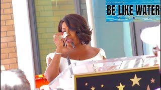 Niecy Nash gets emotional at her Hollywood Walk of Fame Star