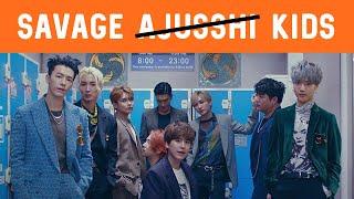 Everybody: grown up   Savage Super Junior: No 😎