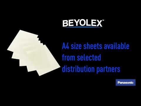 BEYOLEX™, a patented thermoset polymer technology developed by Panasonic for printed electronics and other applications