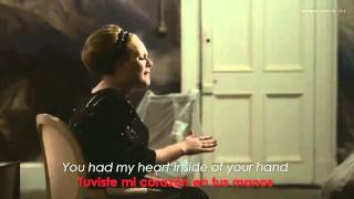 Adele   Rolling In The Deep Lyrics  Sub Español Official Video