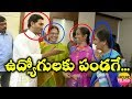 Jagan speaks with AP Secretariat employees in jovial manner