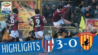 Bologna - Benevento 3-0 - Highlights - Giornata 21 - Serie A TIM 2017/18