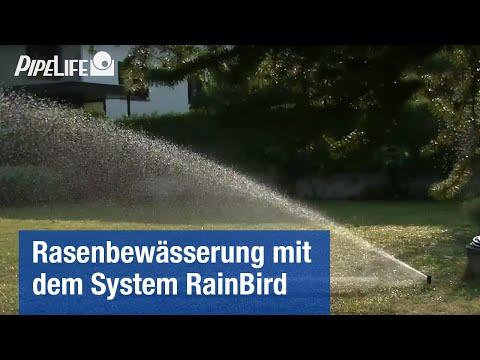 Rasenbewässerung von Pipelife – System RainBird
