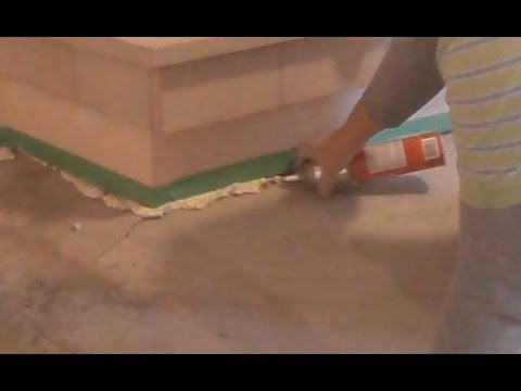Concrete Floor Crack Repair Before Putting Self Leveling