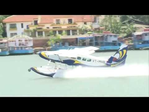 Goa welcomes first-ever amphibious Sea-Plane
