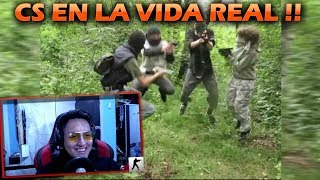 COUNTER-STRIKE en la VIDA REAL 2 !! | Jairito Mapper