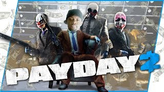 ROBBING A Bank With The Squad! - Payday 2 Gameplay