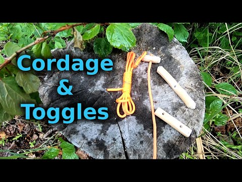 The Incredible Bushcraft Usefulness Of Cordage With Toggles