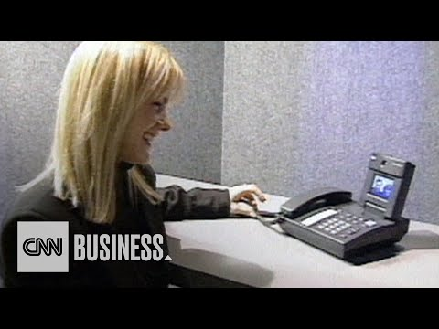 Long before Zoom, this is what video calling looked like.