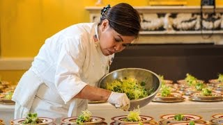White House executive chef prepares for Japanese state dinner