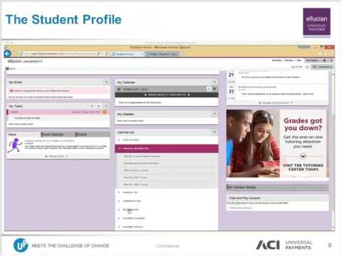 What's New in Campus eCommerce with Ellucian and ACI