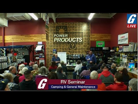 G-Live Presents: Getting your RV ready for Camping Season & General Maintenance - Part1