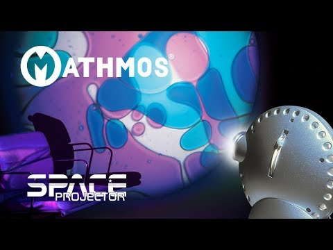 Mathmos Space Projector With Oil Wheel now with LED Bulb*