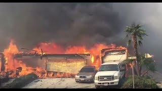 Biggest Ever Fire In US History Bearing Down On Santa Barbara But More To Come In 2018