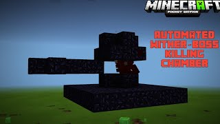Automated wither killing chamber || Tutorial || Hindi