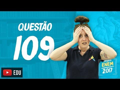 Enem 2016: Questão109(CadernoRosa)