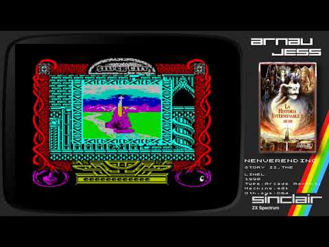 THE NEVERENDING STORY II Zx Spectrum by Linel
