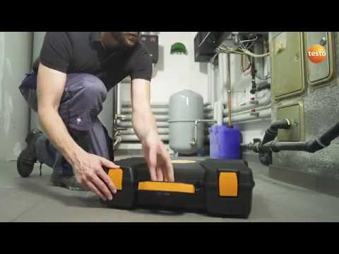 Problemfri rökgasmätning med testo 300