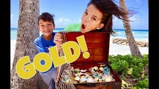 WE FOUND REAL PIRATE TREASURE on a TROPICAL ISLAND!