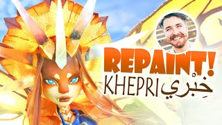 Repaint! Khepri the Light Dragon - Nicholas Kole Collaboration