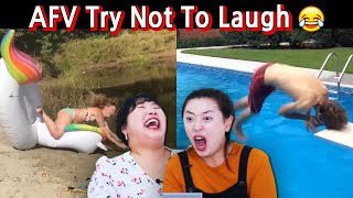 Koreans React to America's Funniest Video *Summer Fails*