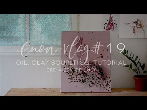 """enon art vlog # 19 
