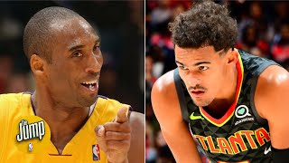 Did Trae Young have the best non-flinch since Kobe Bryant? | The Jump