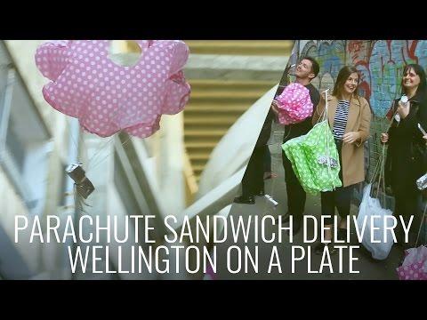 Cuban Air Raid - Parachute Sandwich in Wellington #WellyOnAPlate