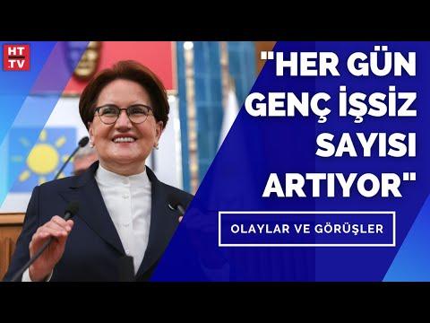 """İYİ Parti Lideri Meral Akşener: """"Ekonomi ve eğitimde güveni adalet sağlar"""" – Olaylar ve Görüşler"""