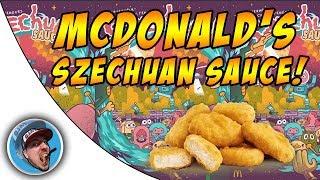 McDonalds Szechuan Sauce! - Food Review!