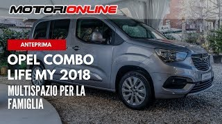 Nuovo Opel Combo Life   Anteprima