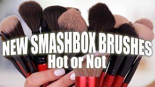 NEW SMASHBOX MAKEUP BRUSHES   Hot or Not